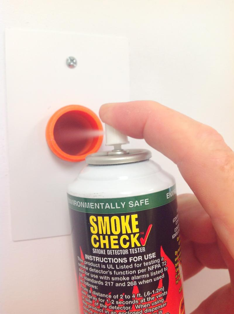 Testing a Duct Smoke Detector